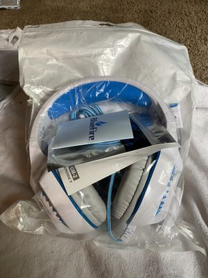 BlueFire Professional Stereo Gaming Headset for PS4, Xbox One for Sale in Florissant, MO