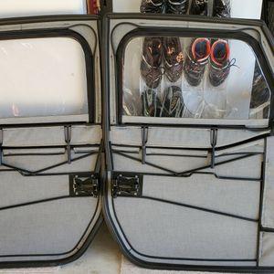 Jeep Wrangler Front Full Fabric Doors for Sale in Arlington, VA