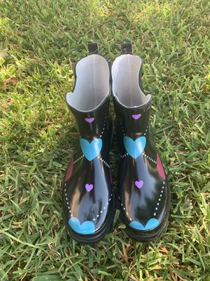 Women's ankle rain boots for Sale in Fort Worth, TX