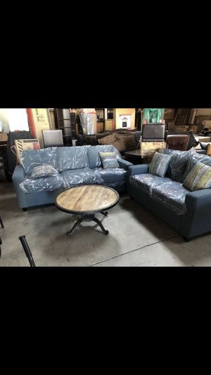 Beautiful new 2pc sofa set (1sofa & 1 loveseat) only 850$!!! for Sale in San Leandro, CA