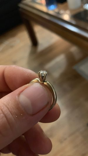 14kt gold and diamond engagement ring for Sale in Los Angeles, CA