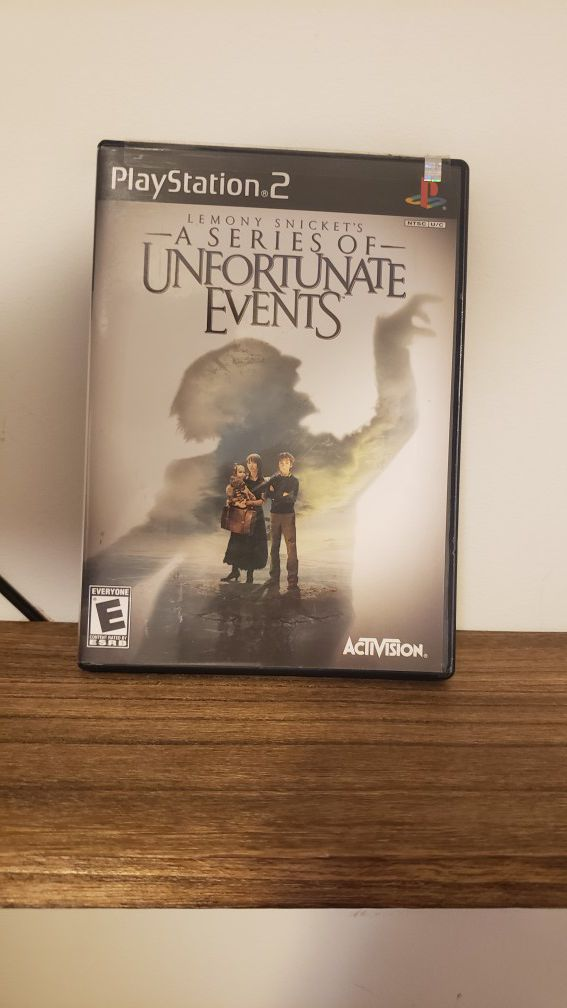 A Series of Unfortunate events [PS2]