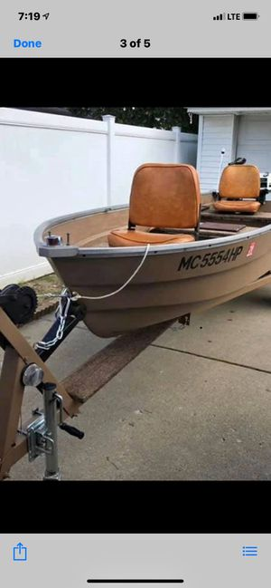 1980 14ft Appleby fishing boat for Sale in Taylor, MI