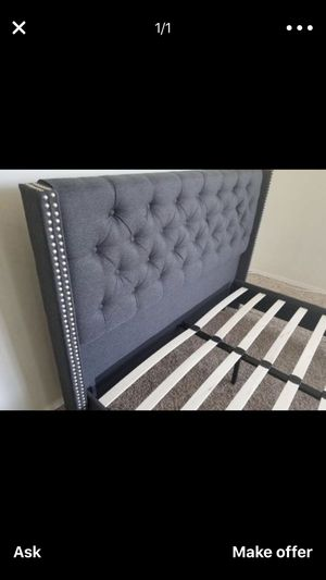Queen or Full Bed Frame Only for Sale in San Jacinto, CA
