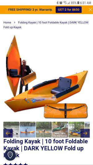 Folding kayak for Sale in West Palm Beach, FL