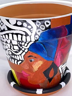 Women In Design Large Flower Pot for Sale in Bronx, NY