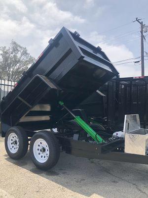 5x8x2 DUMP TRAILER NATM CERTIFIED for Sale in Phoenix, AZ