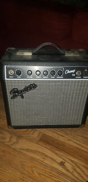 Squire Champ 15 amp for Sale in Fort Worth, TX