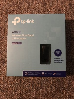 Wireless dual band adapter for Sale in Kansas City, MO
