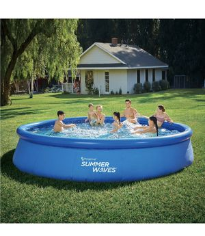 Summer Waves 15 x 36in easy set Pool Set! for Sale in Cleveland, OH