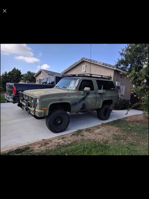 Chevy M1009 military Blazer for Sale in Moreno Valley, CA