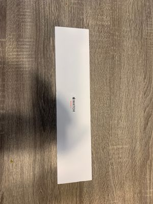 Apple Watch series 3 38mm case . White sport band for Sale in Nashville, TN