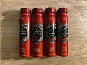 Old spice deodorant spray 4 for $16 for Sale in Huntington Beach, CA