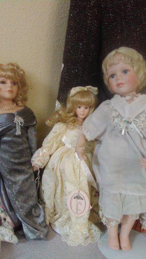 Antique porcelain dolls for Sale in San Antonio, TX