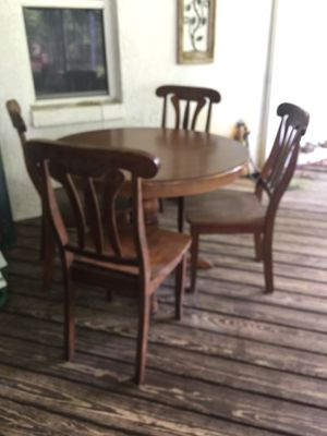 Wood table for Sale in DeLand, FL