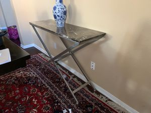 Marble Table Console for Sale in Chula Vista, CA