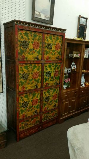Antique oriental chest or cabinet for Sale in Boston, MA