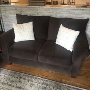 Brown 2 seat couch for Sale in Philadelphia, PA