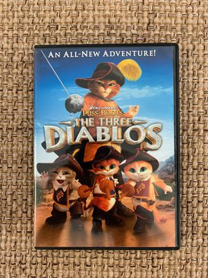 Dreamworks Puss in Boots: The Three Diablos DVD Like New kids movie for Sale in Holmdel, NJ