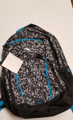 High Sierra backpack for Sale in Grand Prairie, TX