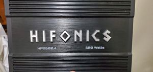 Hifonics 4 channel amp for Sale in Irwindale, CA