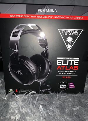 Turtle Beach Elite Atlas Pro Wired Gaming Headset for Sale in Washington, DC