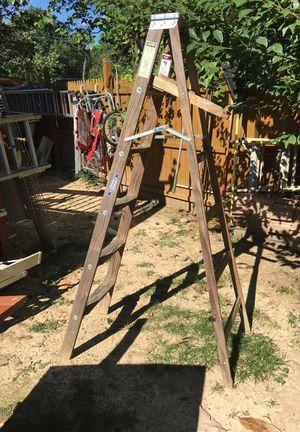 6 ft wood ladder for Sale in Arlington, VA