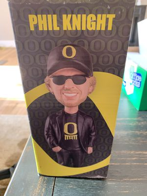Phil Knight bobble head doll brand new never used in the original unopened box for Sale in Portland, OR