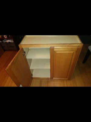 "Kitchen cabinet can be use as upper or base 30"" length, 13"" depth, 30"" height for Sale in Buckley, WA"