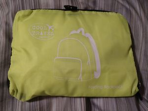 Bright yellow Travel Folding Backpack for Sale in Downers Grove, IL