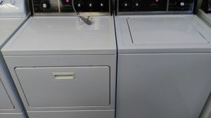 """Kenmore 80 series """"washer/dryer set"""" (white & black & wood) for Sale in Cleveland, OH"""