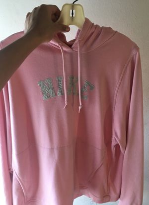 Vintage pink nike hoodie size large for Sale in Silver Spring, MD