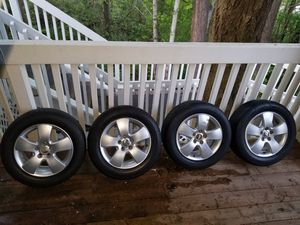 "OEM 15"" VW Jetta wheels. Part#1C0601025F for Sale in Beaverton, OR"
