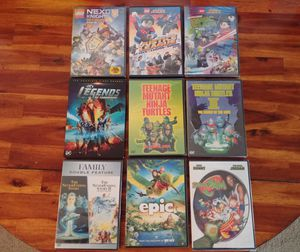 9 DVD movie bundle (10 movies) for Sale in Seattle, WA