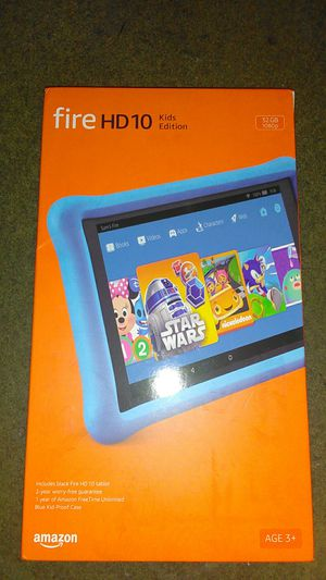 Kindle fire HD 10 kids edition for Sale in Seattle, WA