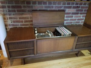 Vintage GE stereo console for Sale in Arlington, VA