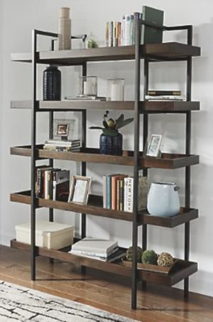 "Starmore 76"" Bookcase- real wood- good quality bookshelves or wall decoration for Sale in El Monte, CA"