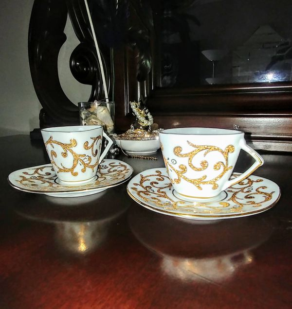 Kütahya tea cups
