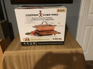 Copper Chef Pro Induction Cooktop w/Casserole Pan for Sale in DeSoto, TX
