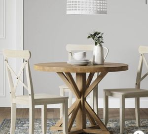 """12103 - 42"""" Litchfield Round Dining Table Light Brown - Threshold for Sale in Anaheim, CA"""