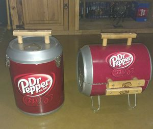 Dr pepper cooler and grill for Sale in Mesa, AZ