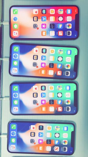 iPhone X (LIKE NEW) Factory Unlocked! (Verizon, T-Mobile, AT&T, Cricket, Metro!) 256gb / 64gb @ for Sale in Arlington, TX