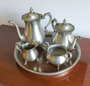 Poole Pewter Tea Set for Sale in West Friendship, MD