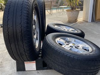 "17"" Wheels And tires for Sale in Covina,  CA"