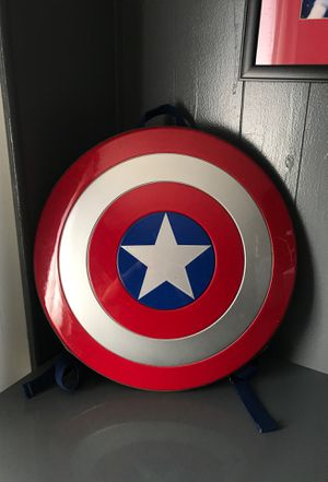 """Marvel Avengers Age of Ultron Captain America Shield Backpack 48CM/18"""" HOT for Sale in Palmdale, CA"""