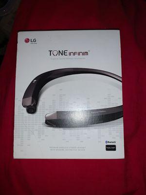 LG Tone Infinim Wireless Headphones for Sale in Tucson, AZ