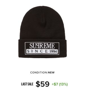 Supreme Reserved Beanie for Sale in Los Angeles, CA