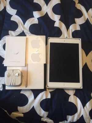 Brand new Apple iPad mini att cellular + WiFi includes new Apple headphones & case for Sale in Pine Lake, GA
