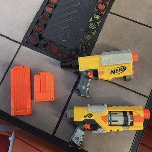 Nerf Gun Pistols (Bundle) for Sale in Woodbridge, VA