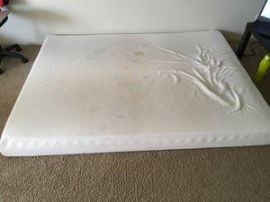 Queen size memory foam mattress for free!!....immediate pickup... for Sale in Minneapolis, MN